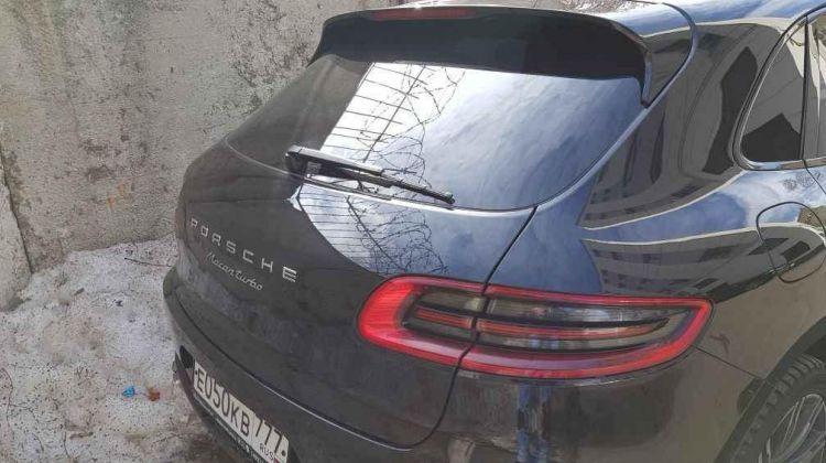 Porsche Macan, кроссовер, 2014г.в., пробег: 111000 вМоскве, кроссовер, черный, бензин, цена— 2750000 рублей. Фото 1