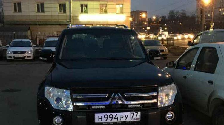 Mitsubishi Pajero, внедорожник, 2010г.в., пробег: вМоскве, внедорожник, черный, дизель, цена— 1190000 рублей. Фото 1