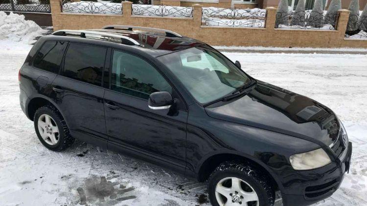 Volkswagen Touareg, внедорожник, 2006г.в., пробег вМоскве, внедорожник, черный, дизель, цена— 599000 рублей. Фото 1