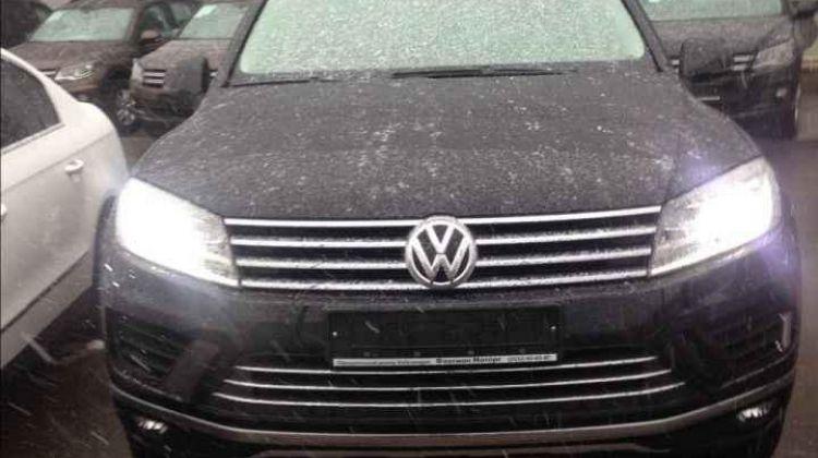 Volkswagen Touareg, внедорожник, 2016 г.в., пробег