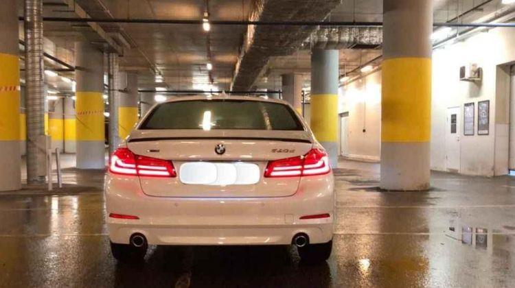 BMW 520, седан, 2018 г.в., пробег: 1400 км., автомат
