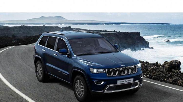 Продается Jeep Grand Cherokee 2018 вПерми, внедорожник, синий, бензин, цена— 3220000 рублей. Фото 1